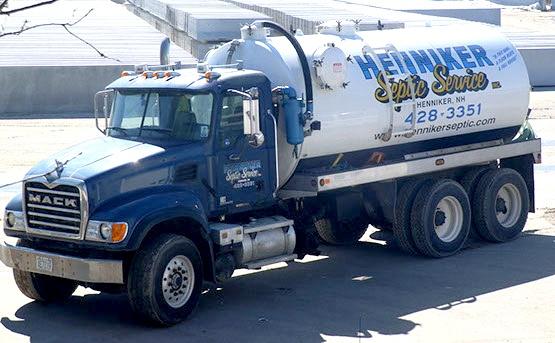 Henniker Septic Service Truck